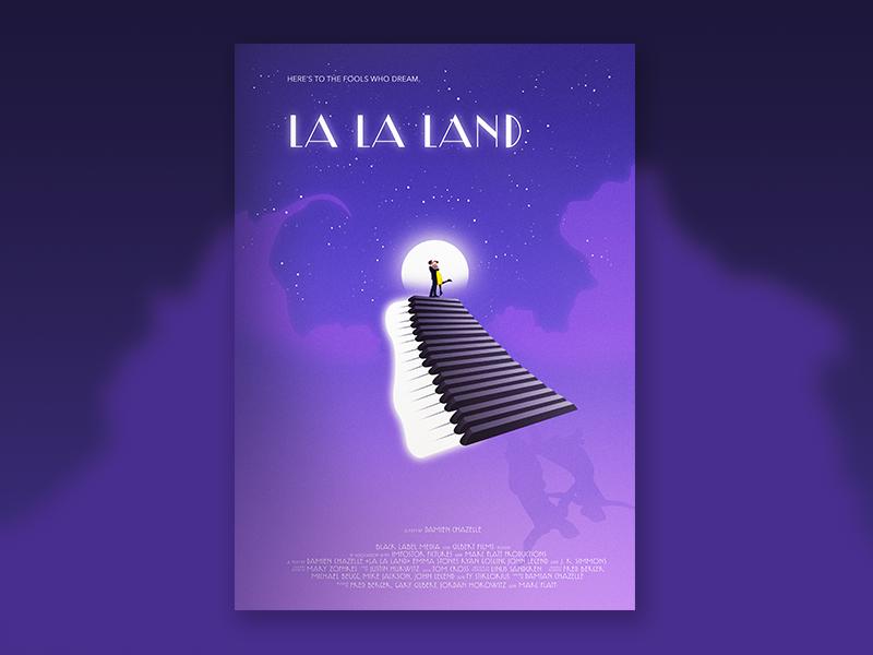 La La Land Poster By Adrien Laurent On Dribbble