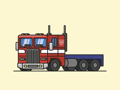 Optimus Prime Truck
