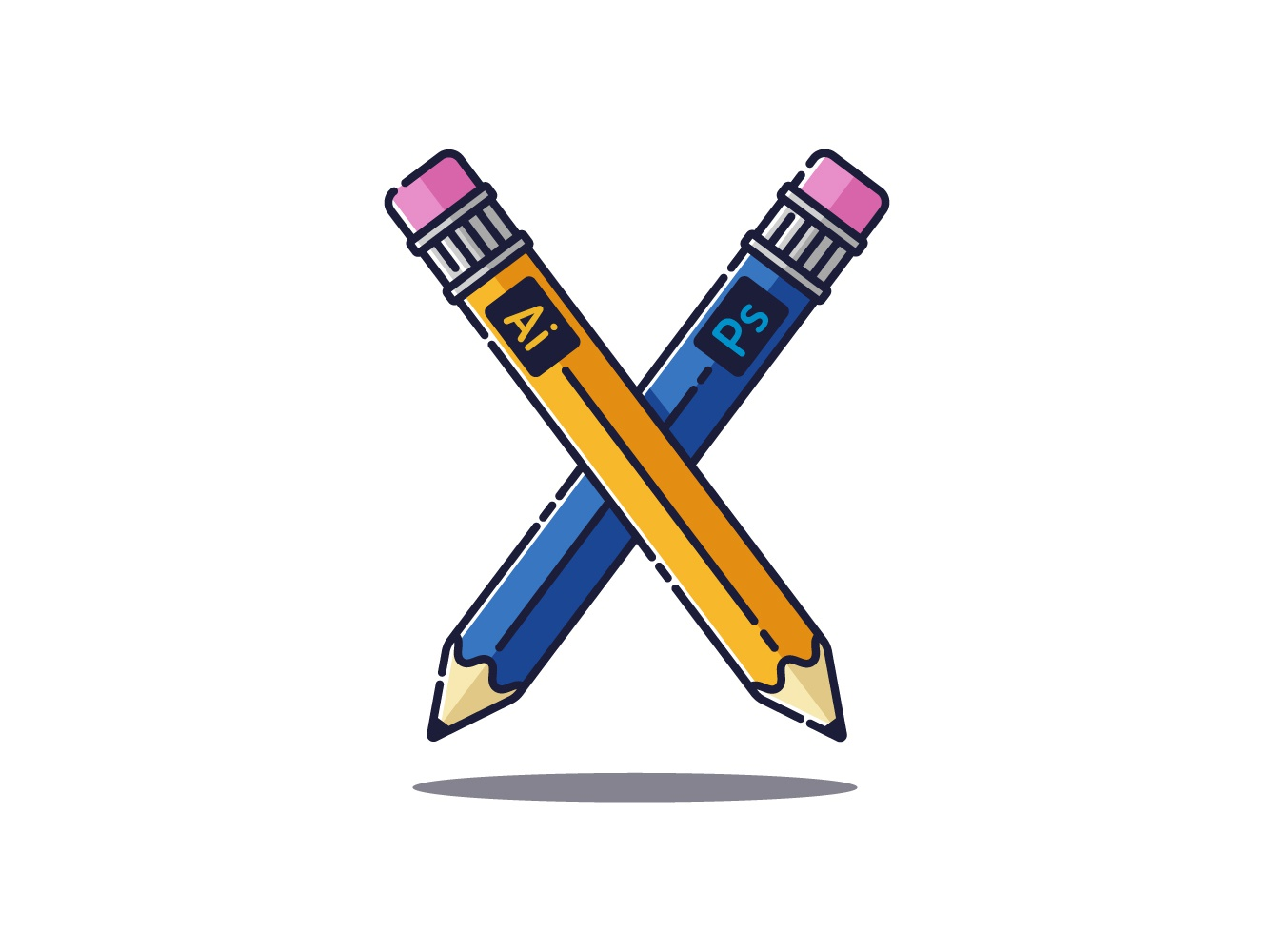 Adobe Pencils by Nenad Teofanov on Dribbble