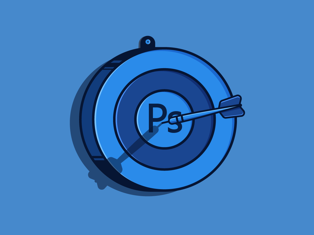 Photoshop Darts graphic design freelance design flat design darts vector illustrator adobe photoshop