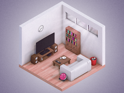 Hey Dribbble modelling 3d poly low