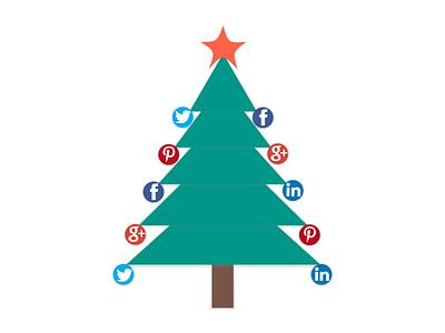 Christmas Tree gifts new year xmas holiday linkendin pinterest google plus facebook twitter christmas