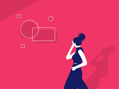 Design Thinking art design character woman illustration