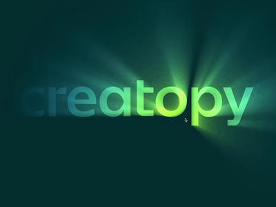 Let it Glow! codepen javascript logo gradient design animation glowing glow