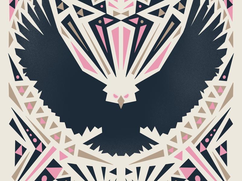 SOAR 🦅 illustration hustwilson eagle