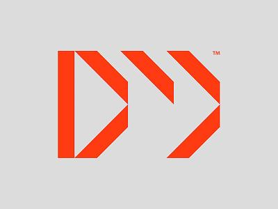 DWJ logo branding type lettering logo typography design
