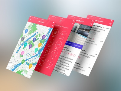 Copenhagen Card App copenhagen card app ios iphone discover icons ui ux layout .sketch