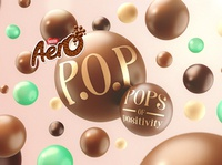 Aero Bubbles design nestle 3d digital chocolate