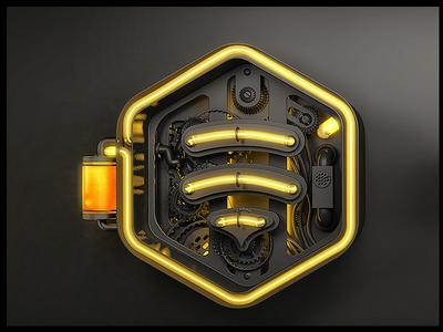 Netbee 3D conversion 3d logo website internet logo netbee