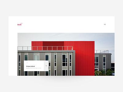 Build セブン – Projects minimalism ui webdesign web architecture architecture website concept interface design