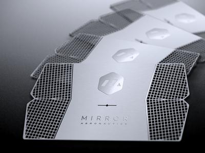 Mirror Aero Business Card