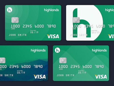 Highlands Debit Card Concepts