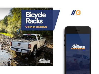 Auto Accessories Garage Brand Elements