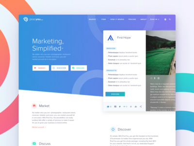ProcYou Marketing - Homepage