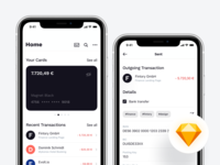 ⬇️ Freebie   Finance Mobile Application Exploration