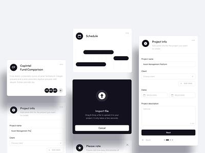📂 Drag & Drop Import Data Exploration files design app window ui ux uploading motion interaction desktop card cards dark black white mp4 animation