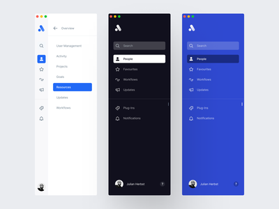 Sidebar Navigation fintory dailyui dashboard navigation design button logo side menu website navigation plus add user interface collapsable navigation clean user interface flat minimal sidebar sidebar menu navigation color clean page ui app icon profile animation