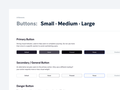Fintory Design System fintory system react grid graphic button buttons form font component library clean product app ux ui design system