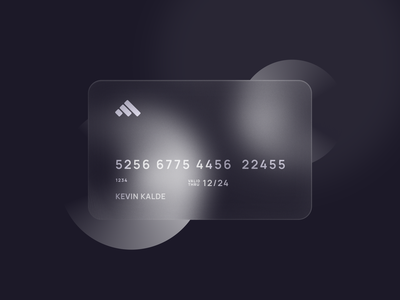 💎 Glass Card card style app ui dashboard dashboard mockup mockup free 3d mockup user interface ux ui clean simple black white card design glass card 3d card gloss 3d style glossy finance card