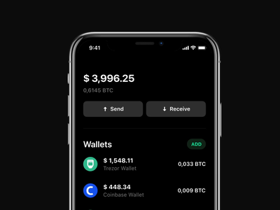 🔄 Pull-to-refresh iphone animation motion mp4 interaction app design receive send lightswap coinbase crypto app finance ios14 ios native refresh pull to refresh app mobile