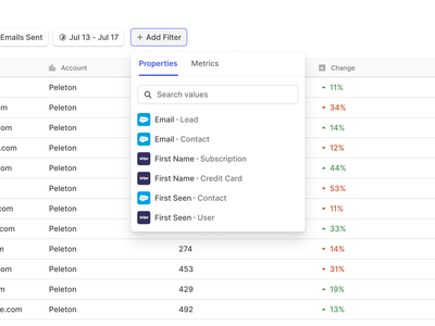Advanced Filtering dashboard app fintory table data input sort filter ui complexity product design dropdown search minimal clean filters visual design ui ux filtering filter