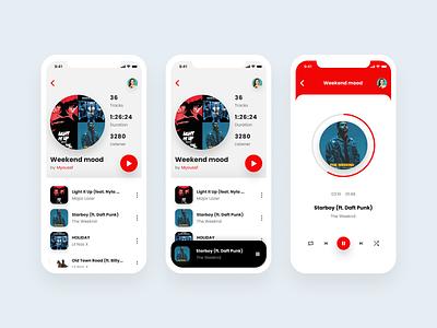 Music app music music app spotify player musician music player ui music player app design ui design mobile app app screen app ux ui