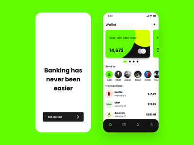 Finance Mobile App Design app screen app mobile app mobile product design appdesign fintech ios banking finance ui design ux ui