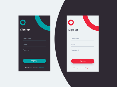 Daily UI  #001 Sign Up App Screen mobile app app screen signup dailyui