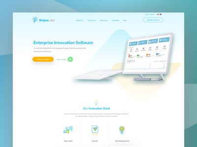 Skipsolab New Homepage Design