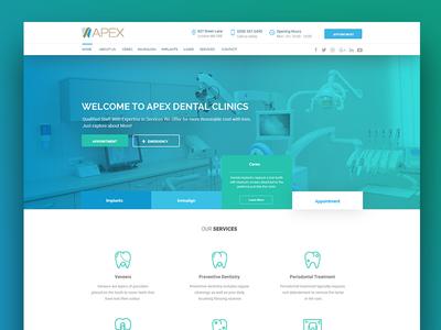 Apex Dental Clinic New Website