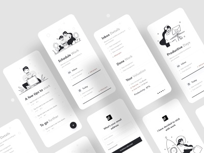 Todoist Application Redesign product page research projectmanagement todoist todolist uiux mobile app application design ios mobileapp app business typography ux website web design ui illustrations illustration