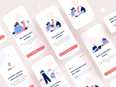 Mobile application design uxui mobile app design application design app moblieapp protection password cyber security android ios application business branding typography ux web design ui illustrations illustration