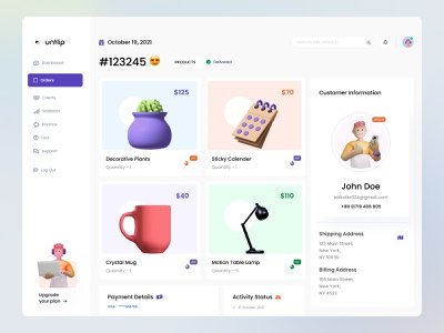 Product Detail Page admin panel user experience user interface ux application web application cart ecommerce detail page order vector branding logo website web design header ui illustrations illustration