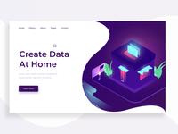Data managing Illustration