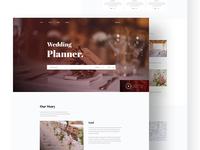 Wedding Event Management UI