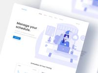 Work Management Landing Page