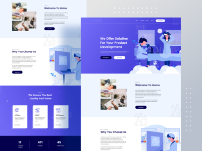 chemical testing landing page