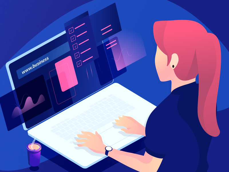 10 Things To Know uiux ui template builder 10 page builder joomla joomshaper gradient character illustrations illustration