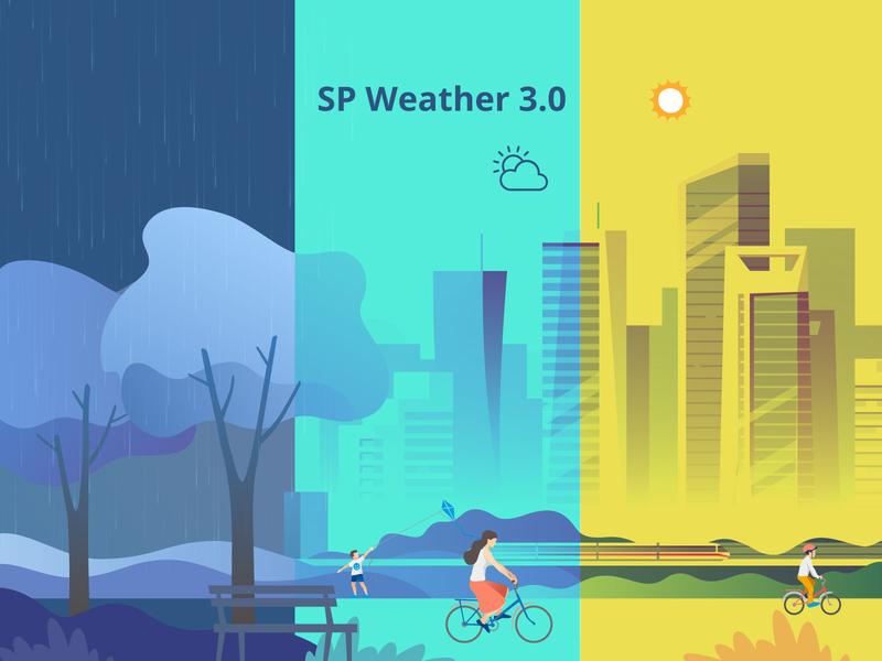 Sp Weather Update page builder joomshaper template extension plugin weather sp sp weather update