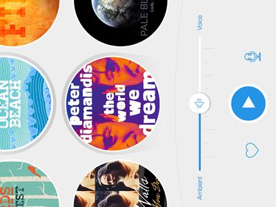 Omvana iOS7 Redesign flat ios7