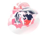 Karl: Every San Franciscan's Inevitable Third Wheel 🍷