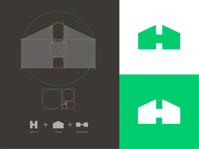 Houseparty Logo Restye home logo h monogram h logo house logo app logo app icons app icon tech logo software logo monogram logo grid mark branding logo identity