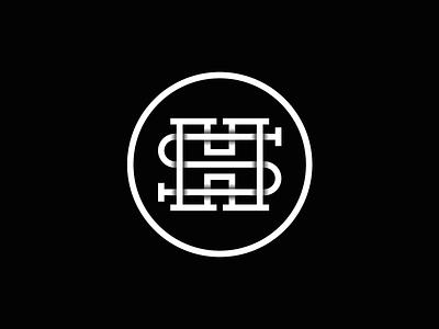 SH Monogram h monogram h logo s monogram s logo sh sh logo sh monogram logo system logomark monogram logo grid mark branding identity logo
