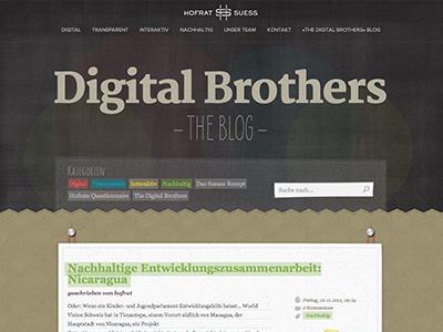 Hofratsuess thedigitalbrothers blog