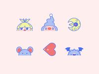 Cute Pokémon Icons