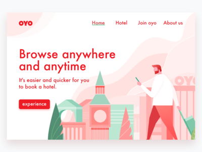 A hotel website