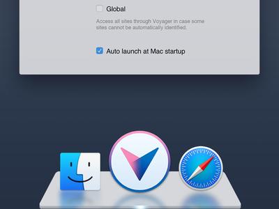 Voyager Mac Icon voyager v vpn virtual private network geometric logotype textlogo interenet freedom letter mac icon