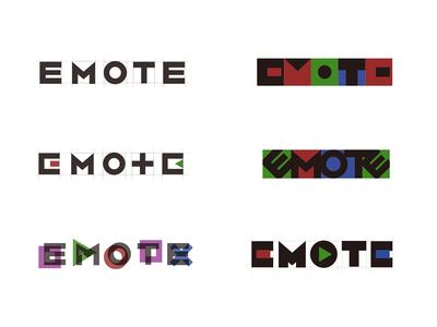 emote logo design