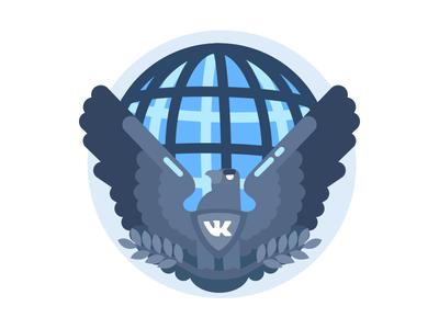 Eagle badge for VK