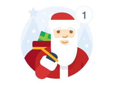 Santa badge for VK